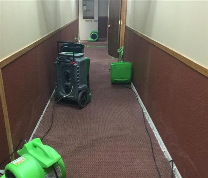 Office Space Flood Cleanup After