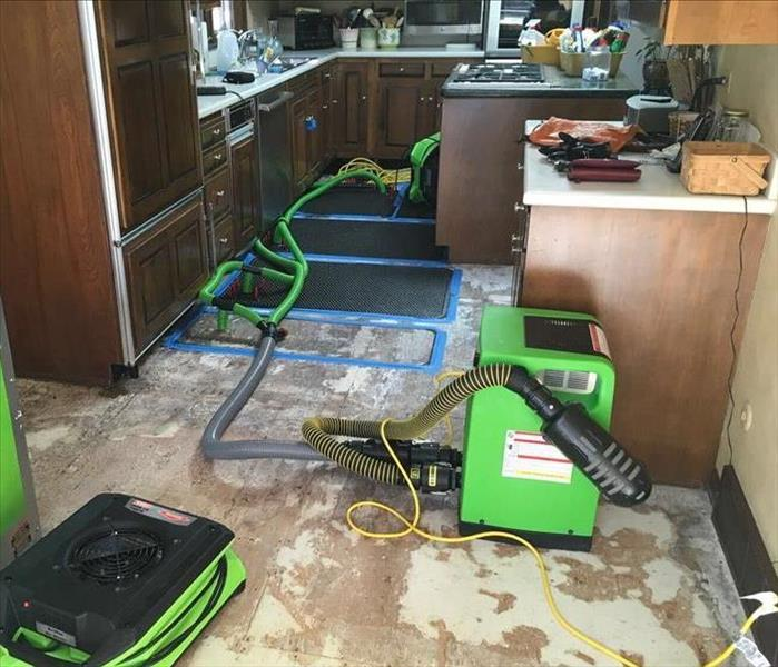 Ice Maker Flood in Roselle, IL After