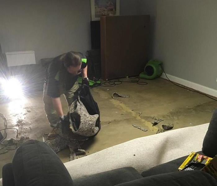 Commercial Building Clean up